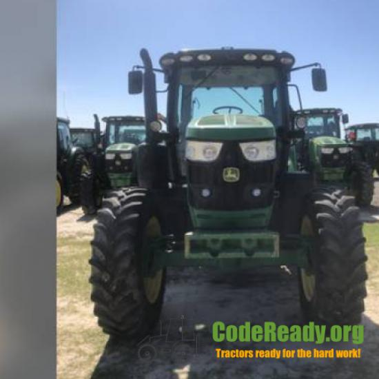Used 2016 John Deere 6145R in Dixie, Georgia
