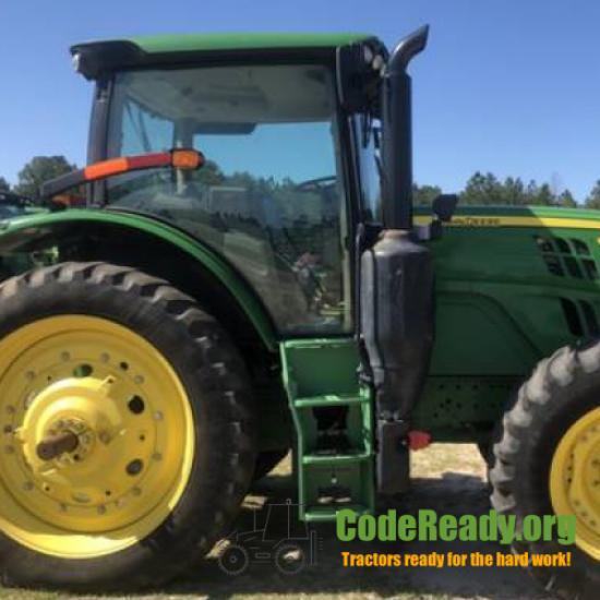 Used 2016 John Deere 6145R for Sale in Georgia