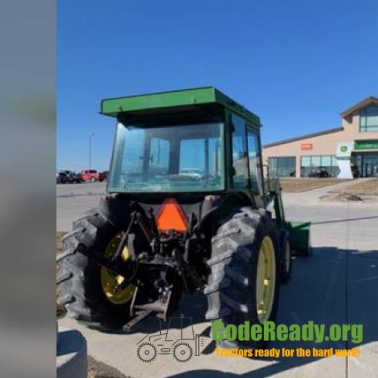 Used 2000 John Deere 5205 for Sale in Iowa