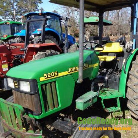 Used 2001 John Deere 5205 for Sale