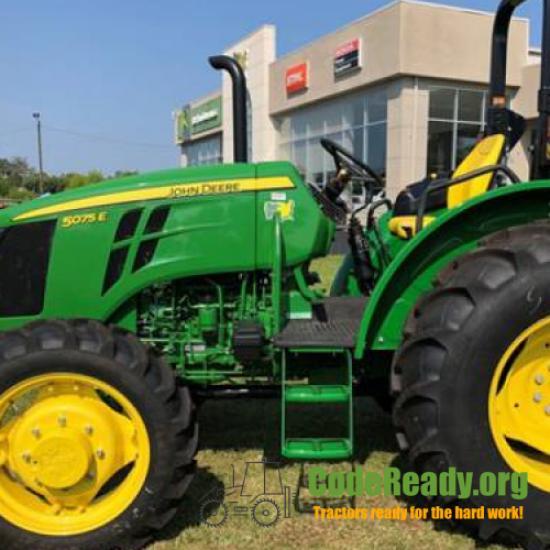 Used 2021 John Deere 5075E in Middleburg, Florida