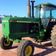 1989 John Deere 4555