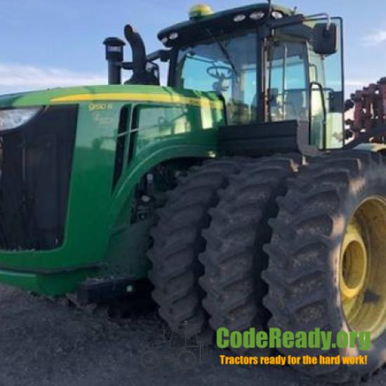 Used 2014 John Deere 9510R in Jamestown, North Dakota
