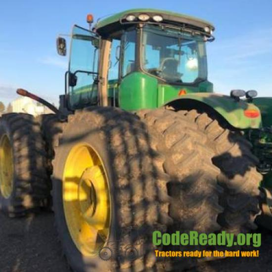Used 2014 John Deere 9510R for Sale in North Dakota