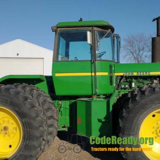 Used 1982 John Deere 8640 in Hampton, Iowa