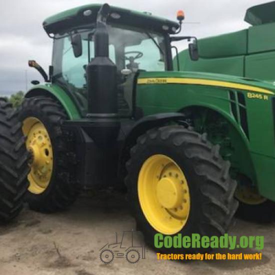Used 2019 John Deere 8245R for Sale in Mississippi