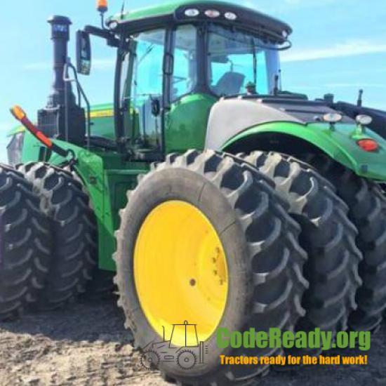 Used 2018 John Deere 9420R in Webster, South Dakota