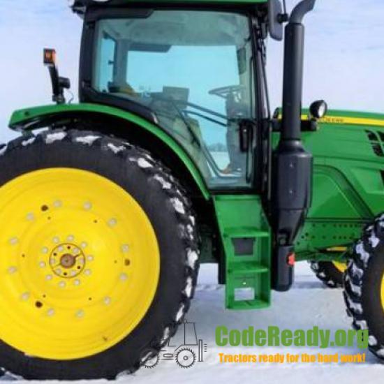 Used 2019 John Deere 6155R in Moorhead, Minnesota