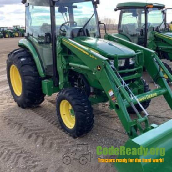 Used 2020 John Deere 4066R for Sale