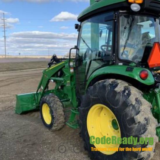 Used 2020 John Deere 4066R for Sale in South Dakota