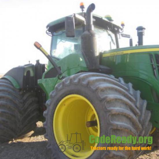 Used 2020 John Deere 9520R in Manning, Iowa
