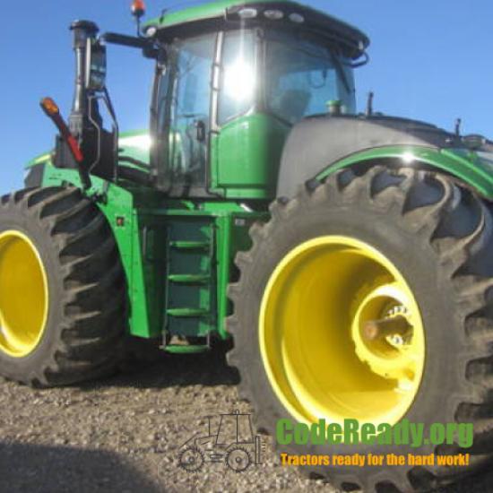Used 2020 John Deere 9520R for Sale in Iowa