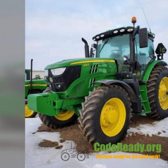 Used 2018 John Deere 6155R for Sale