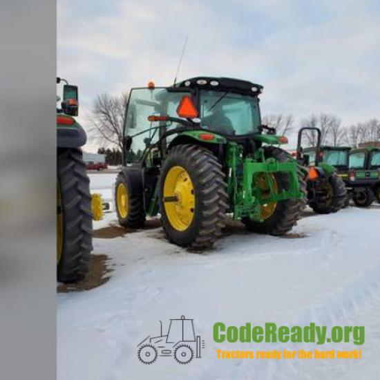 Used 2018 John Deere 6155R in Wadena, Minnesota
