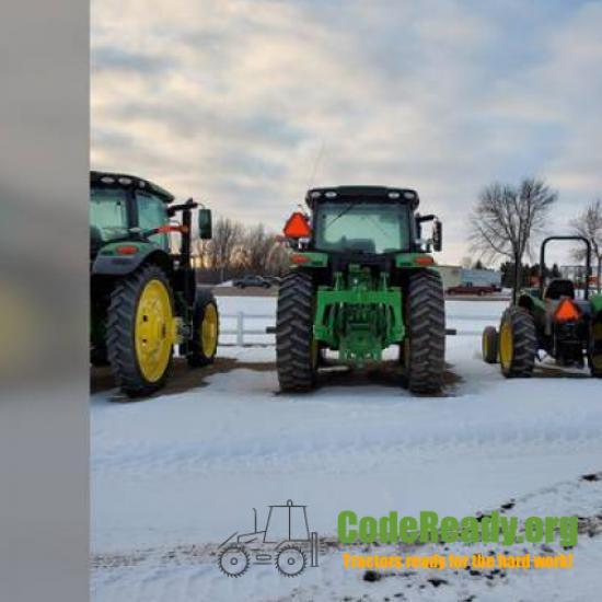 Used 2018 John Deere 6155R for Sale in Minnesota