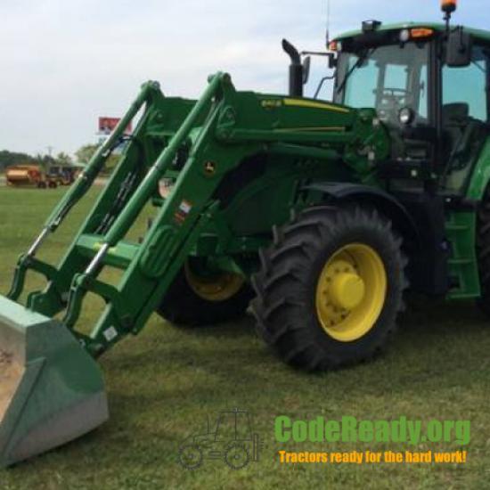 Used 2019 John Deere 6155M for Sale