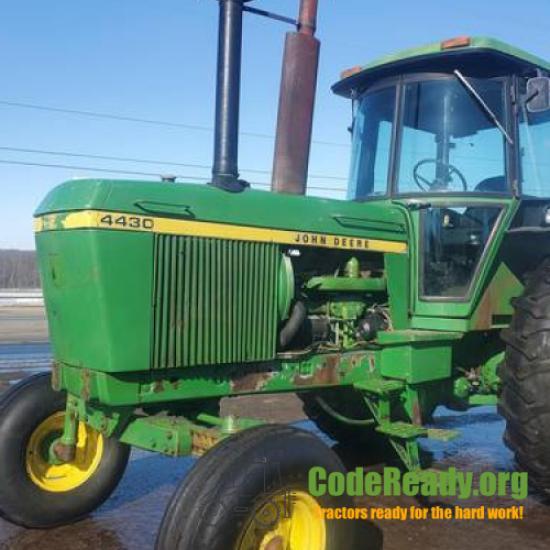 Used John Deere 4430 in Wooster, Ohio