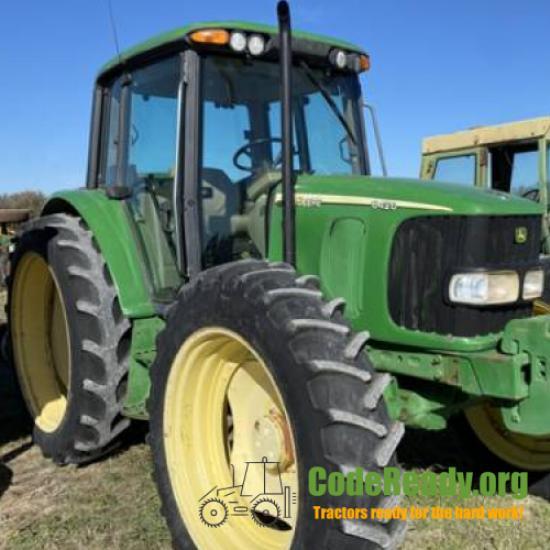 Used 2002 John Deere 6420 for Sale