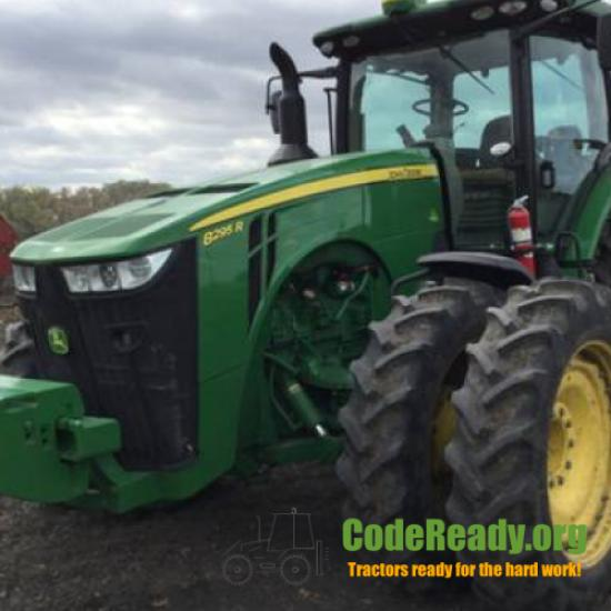 Used 2017 John Deere 8295R for Sale