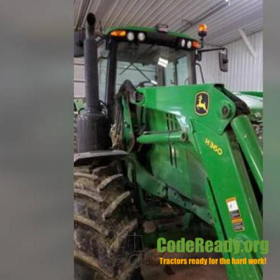 Used 2016 John Deere 6155M for Sale