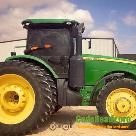 Used 2012 John Deere 8335R in Big Spring, Texas