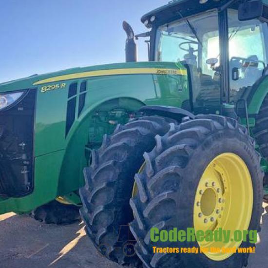 Used 2018 John Deere 8295R for Sale