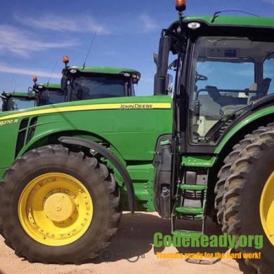 Used 2017 John Deere 8270R in Levelland, Texas