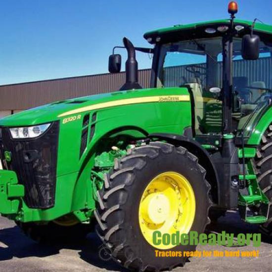 Used 2015 John Deere 8320R for Sale