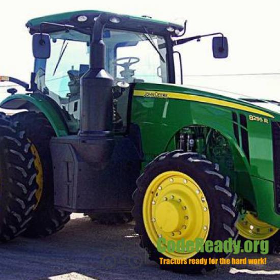 Used 2014 John Deere 8295R in Levelland, Texas