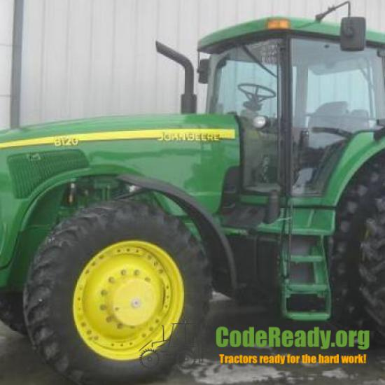 Used 2003 John Deere 8120 for Sale