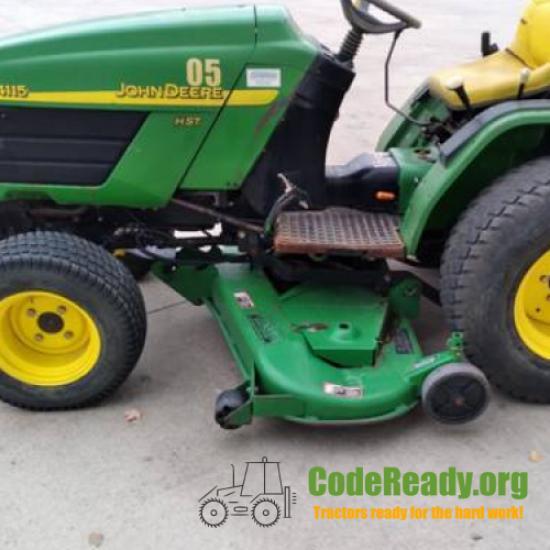 Used 2005 John Deere 4115 in Hastings, Michigan