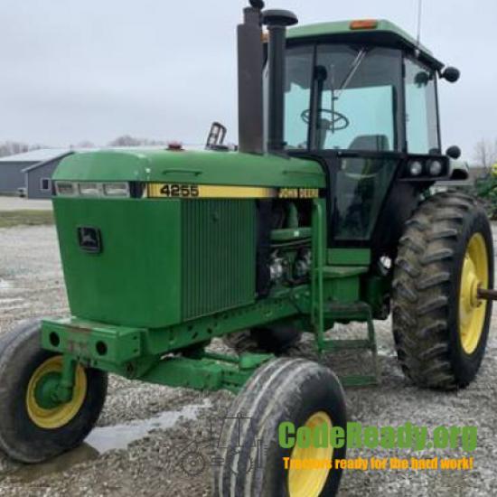 Used 1990 John Deere 4255 for Sale
