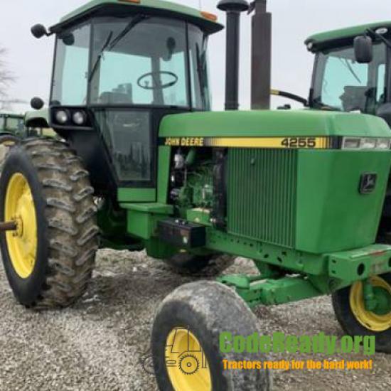Used 1990 John Deere 4255 in Breese, Illinois