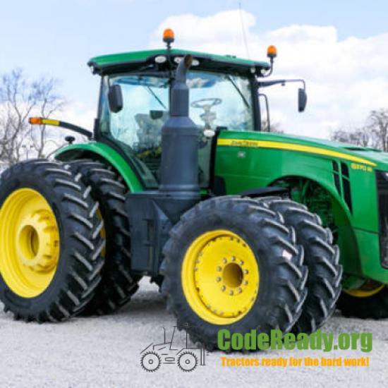Used 2014 John Deere 8370R in Muncie, Indiana