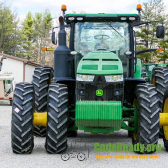 Used 2014 John Deere 8370R for Sale in Indiana