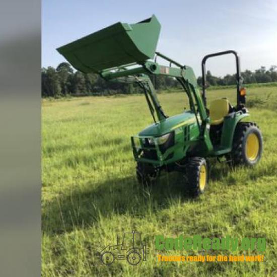 Used 2021 John Deere 3025E for Sale in Georgia