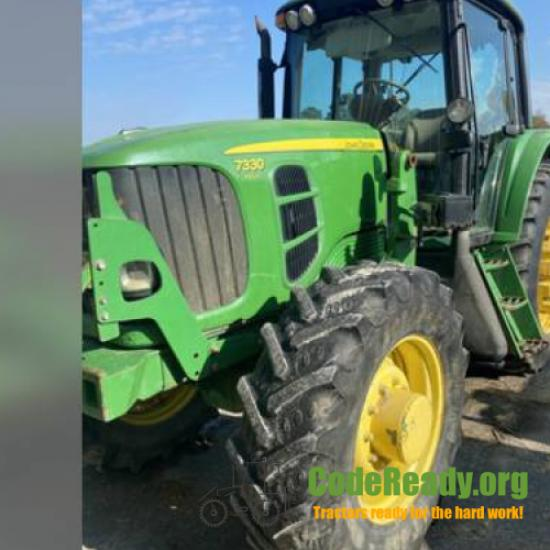 Used 2009 John Deere 7330 for Sale in Maryland