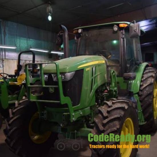 Used 2018 John Deere 6135E in Mc Cook, Nebraska