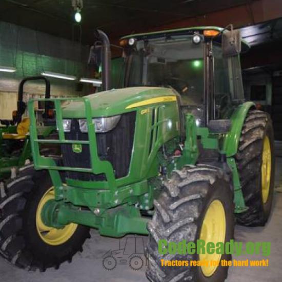 Used 2018 John Deere 6135E for Sale in Nebraska